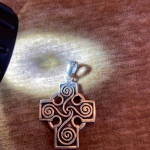 Sterling Silver Cross minus necklace
